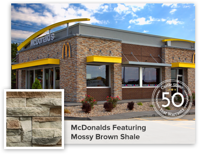 McDonalds featuring Mossy Brown Shale
