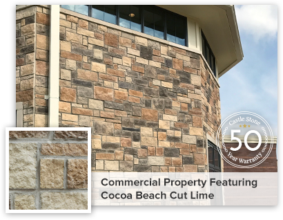 Commercial property featuring Cocoa Beach Cut Lime