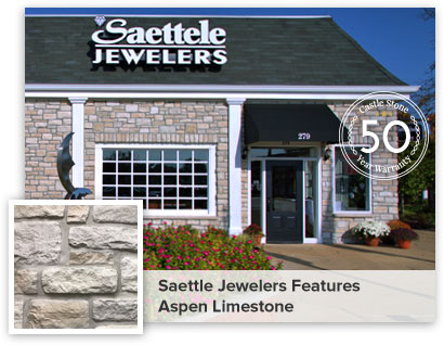 Seattle Jewelers Features Apsen Limstone
